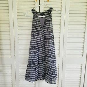 Tie dye fourth of July dress!